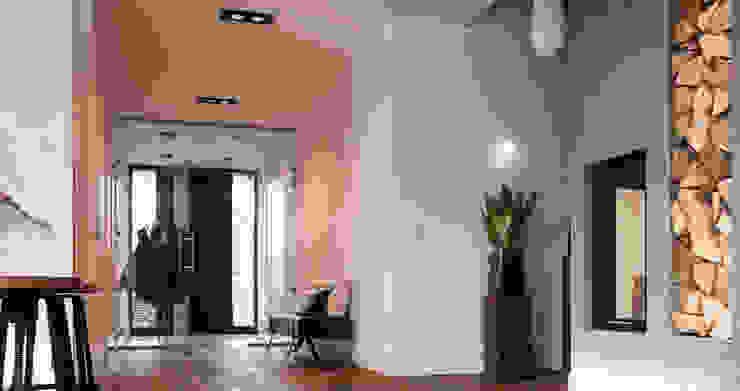 Salas de estar industriais por Ewa Weber - Pracownia Projektowa Industrial