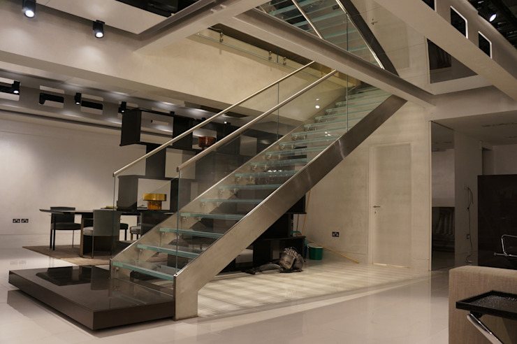 Kitchen retailer London Minimalist commercial spaces by Stair Factory Minimalist