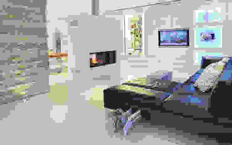 Salas de estilo minimalista de Skandella Architektur Innenarchitektur Minimalista