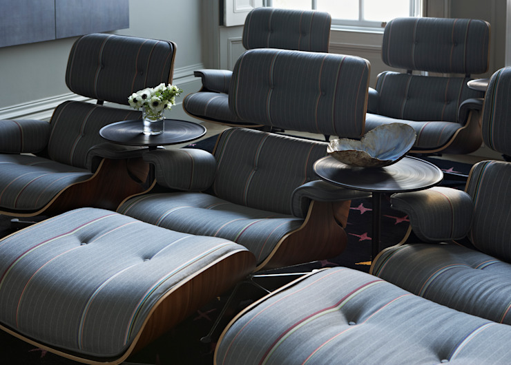 Bedford Row Cinema Classic style media room by Violet & George Classic