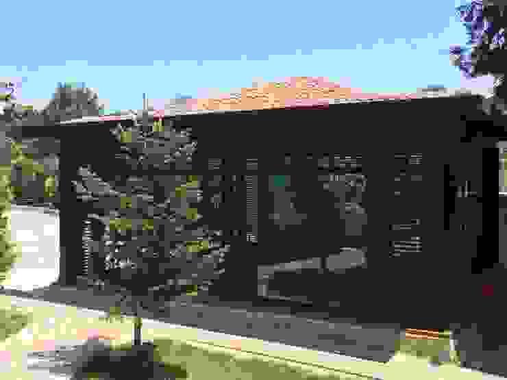 Jardins de Inverno minimalistas por Tabiat Ahşap Tasarım ve Uygulama San. Tic. Ltd. Şti Minimalista
