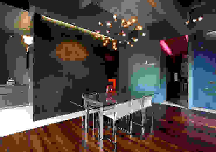MG2 architetture - Interior - Loft Sala da pranzo in stile industriale di mg2 architetture Industrial