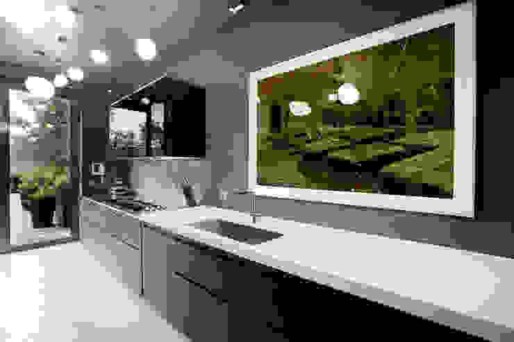 MG2 architetture - Interior - Loft Cucina in stile industriale di mg2 architetture Industrial