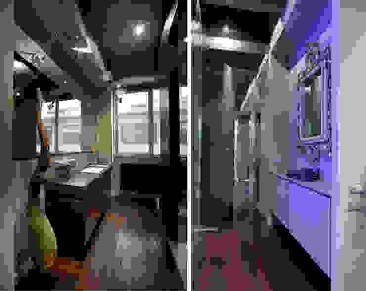 MG2 architetture - Interior - Loft Bagno in stile industriale di mg2 architetture Industrial
