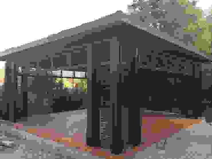 ahşap kamelya yapım aşaması Minimalist Kış Bahçesi Tabiat Ahşap Tasarım ve Uygulama San. Tic. Ltd. Şti Minimalist