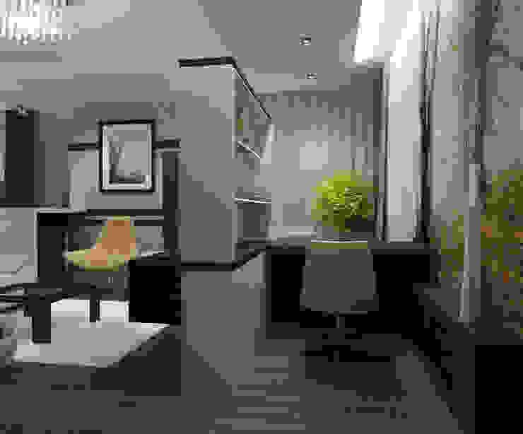 Квартира холостяка Рабочий кабинет в стиле модерн от Efimova Ekaterina Модерн