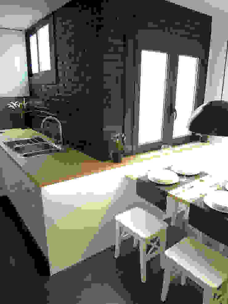 Cocina office Cocinas de estilo moderno de davidMUSER building & design Moderno
