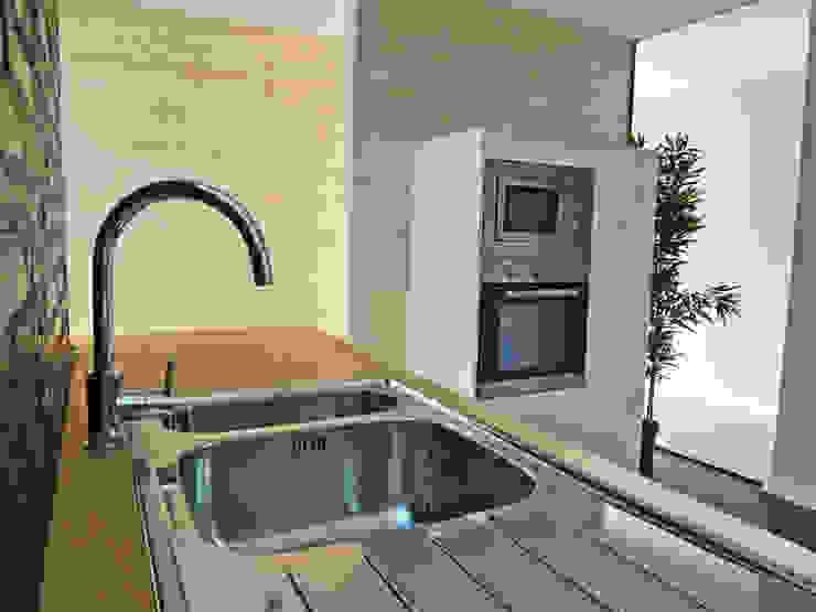 Cocina Cocinas de estilo moderno de davidMUSER building & design Moderno