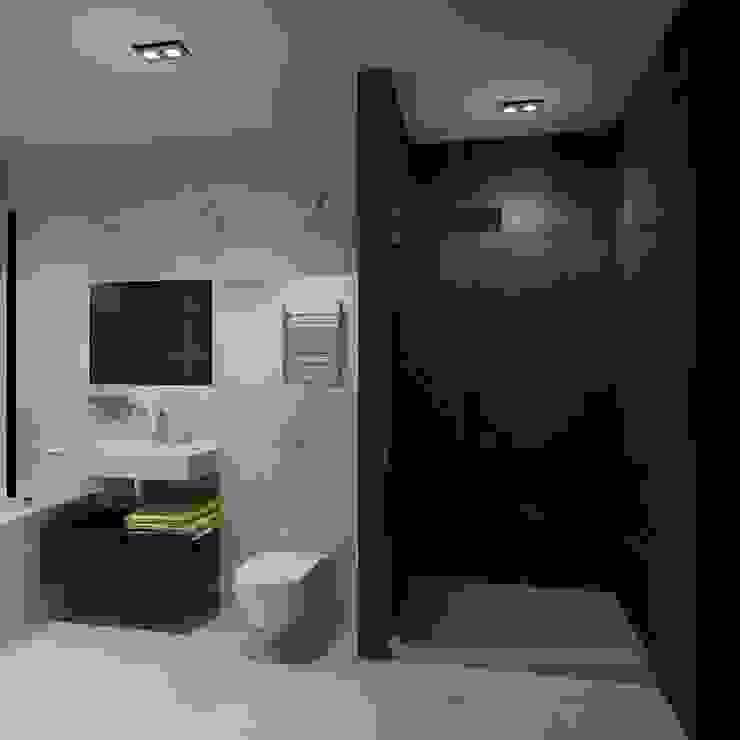 Квартира холостяка Ванная комната в стиле модерн от Efimova Ekaterina Модерн
