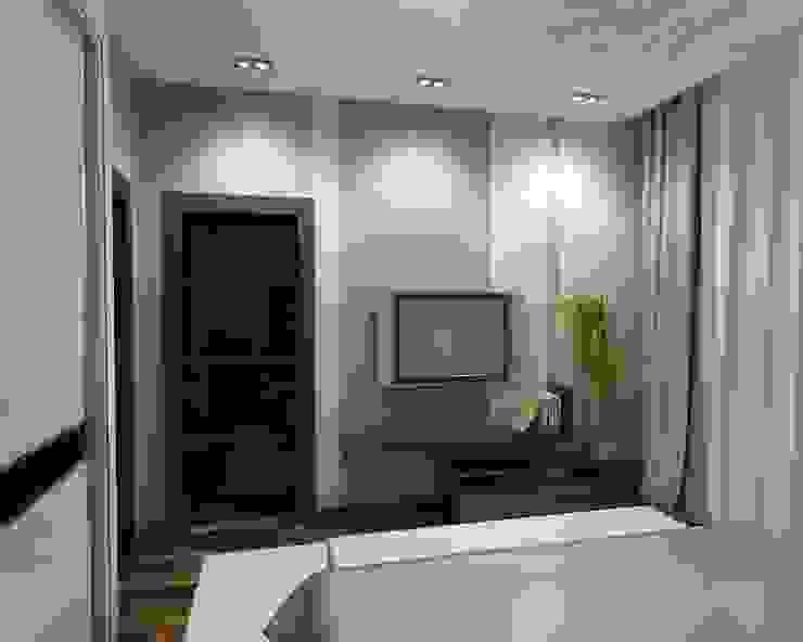 Квартира холостяка Спальня в стиле модерн от Efimova Ekaterina Модерн