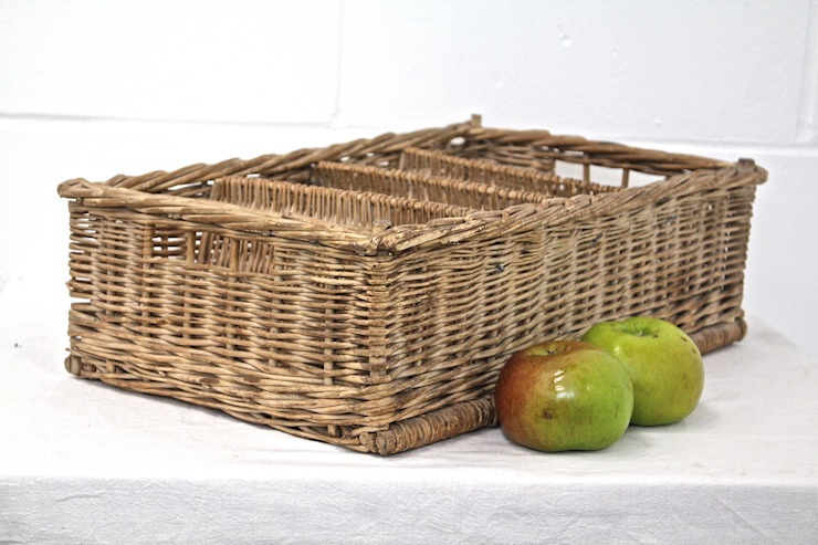 Wicker basket di Secolari and co. ltd Rurale