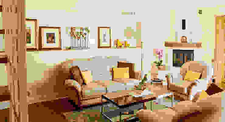 Wnętrze w stylu klasycznym w Lęborku Klasyczny salon od Ewa Weber - Pracownia Projektowa Klasyczny