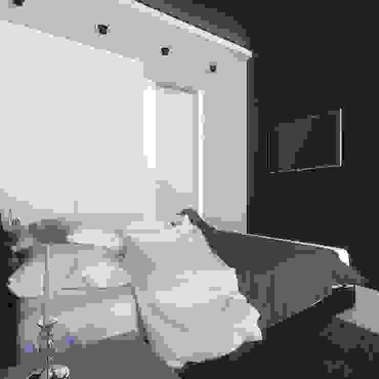 Новая Александрия Спальня в стиле минимализм от Максим Любецкий Минимализм