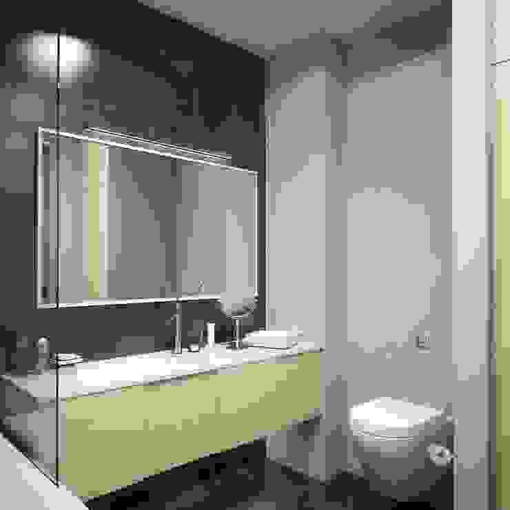Новая Александрия Ванная комната в стиле минимализм от Максим Любецкий Минимализм