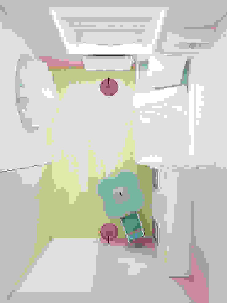 Pokój 4-latki Eklektyczny pokój dziecięcy od SPOIWO studio Eklektyczny