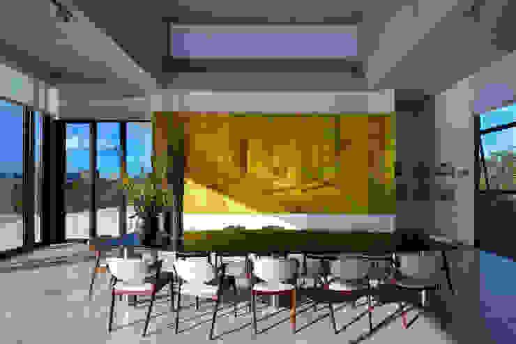 Casa JE Salas de jantar modernas por Humberto Hermeto Moderno