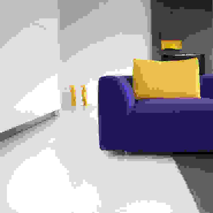 Watervilla Minimalistische woonkamers van CioMé Minimalistisch