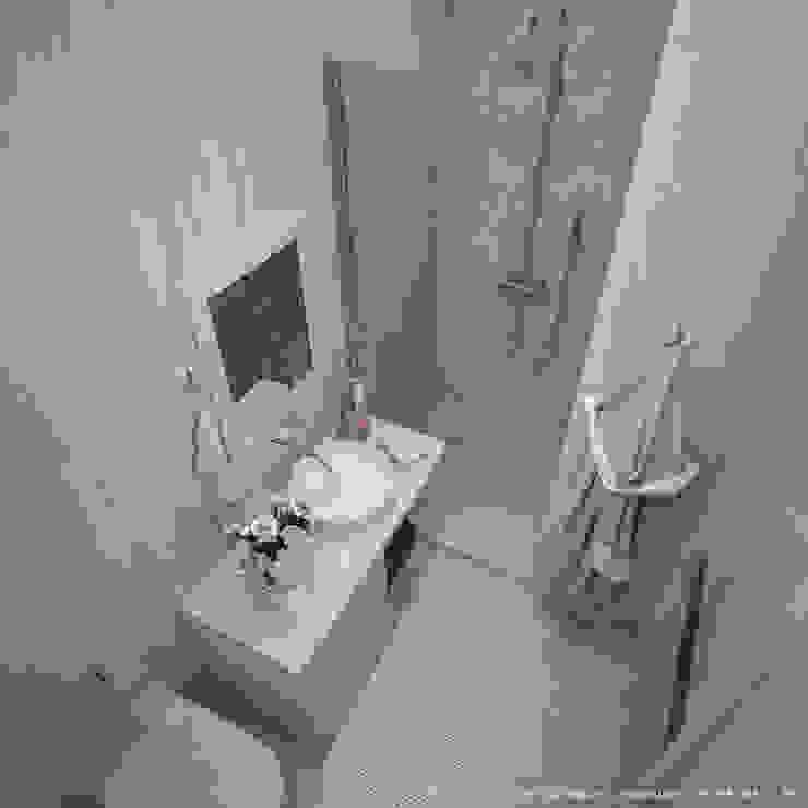 квартира на Светлане Ванная комната в скандинавском стиле от Максим Любецкий Скандинавский