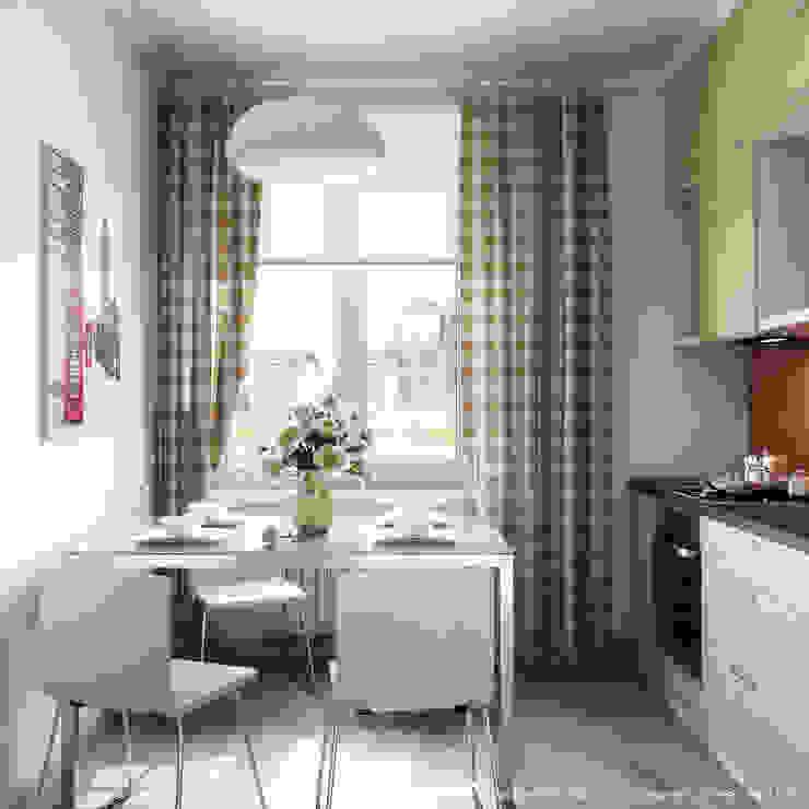 квартира на Светлане Кухня в скандинавском стиле от Максим Любецкий Скандинавский