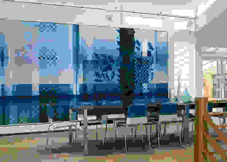 beach house, Provincetown MA Eclectische muren & vloeren van Workingbert Eclectisch