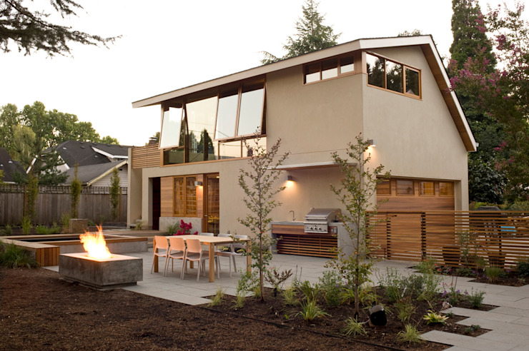 Laurelhurst Carriage House Casas modernas de PATH Architecture Moderno