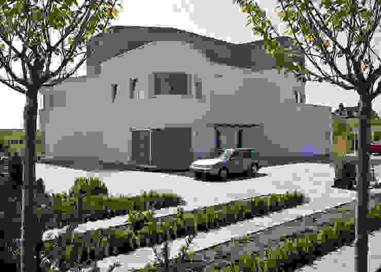 Florian Eckardt - architectinamsterdam Casas de estilo moderno