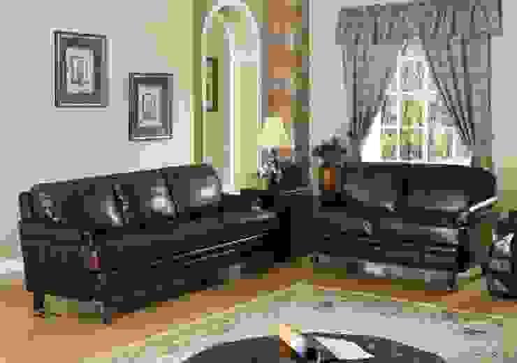 Leather Sofa Set: modern  by Locus Habitat,Modern