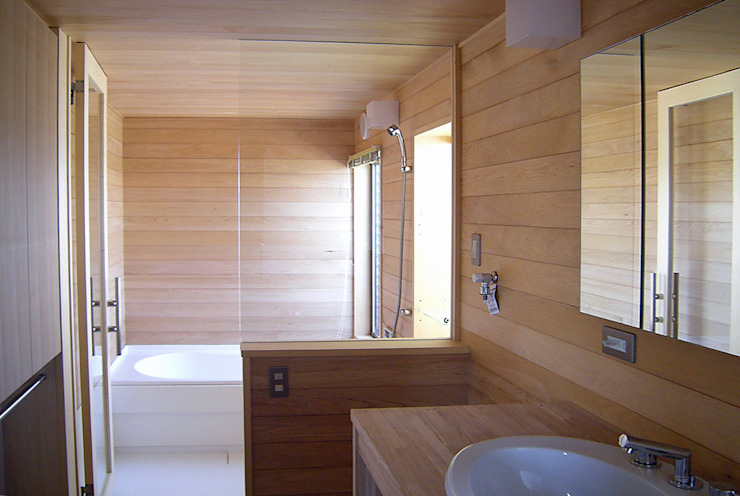 Eclectic style bathroom by 環境創作室杉 Eclectic