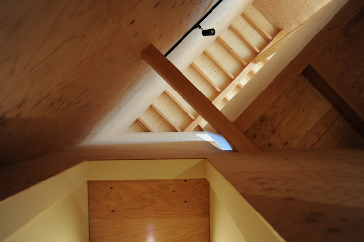 階段からの見上げ オリジナルスタイルの 玄関&廊下&階段 の モノスタ'70 オリジナル