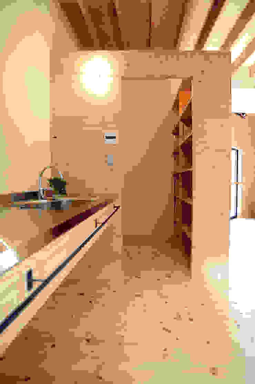 パントリー オリジナルデザインの キッチン の モノスタ'70 オリジナル