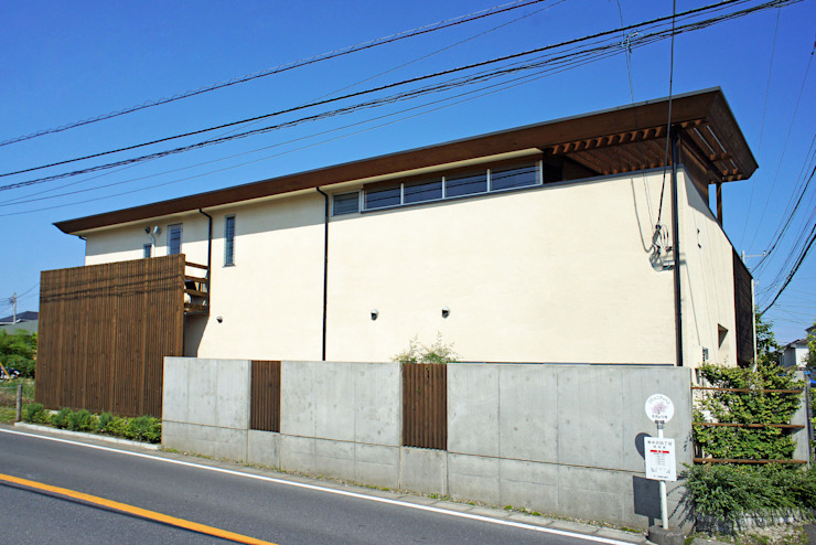 Eclectic style houses by 環境創作室杉 Eclectic
