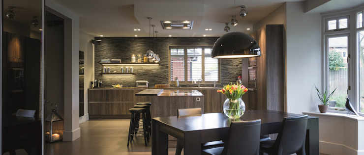 Regan Kitchen – Room of the Year / Northern Design Awards 2014 Minimalist Mutfak Stuart Frazer Minimalist