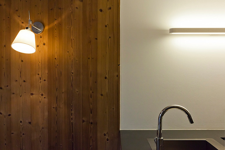Appartement Les Arcs Cuisine rustique par Tymeno Rustique