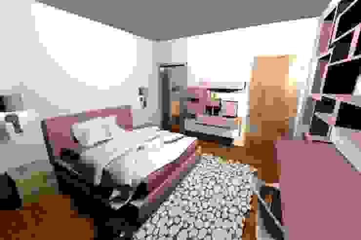 Kamaleontika Modern Bedroom