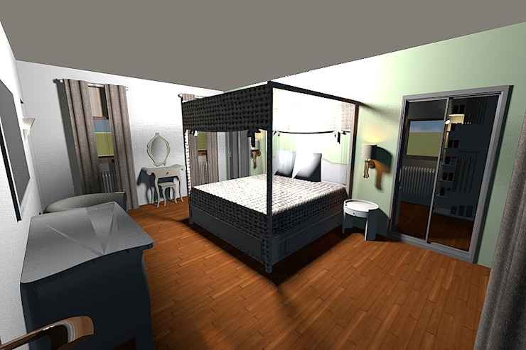Kamaleontika Classic style bedroom