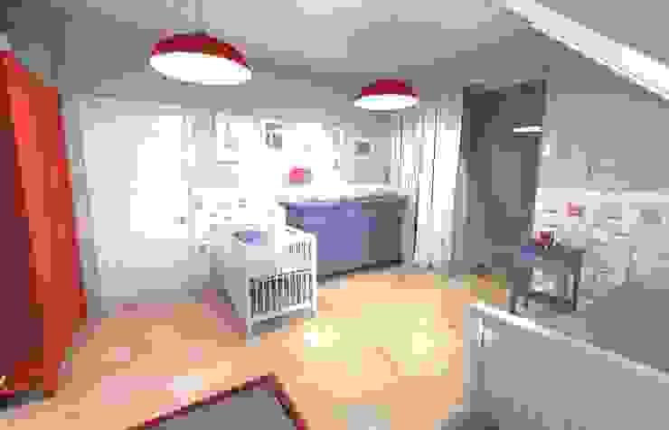 Projekt pokoju dla chłopca Skandynawski pokój dziecięcy od Orange Studio Skandynawski