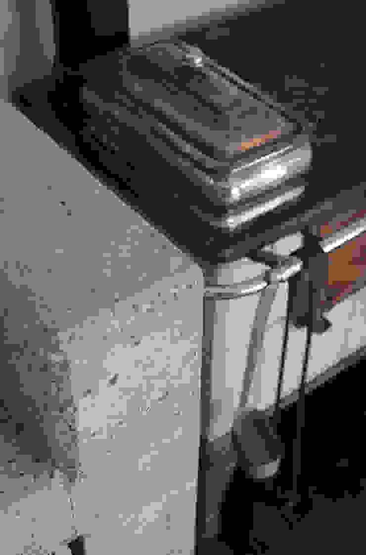 stufa economica Sala da pranzo in stile rustico di supercake Rustico