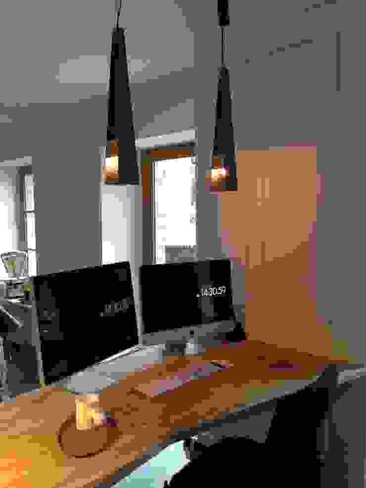 Bureau Bureau minimaliste par Atelier Tresan Minimaliste