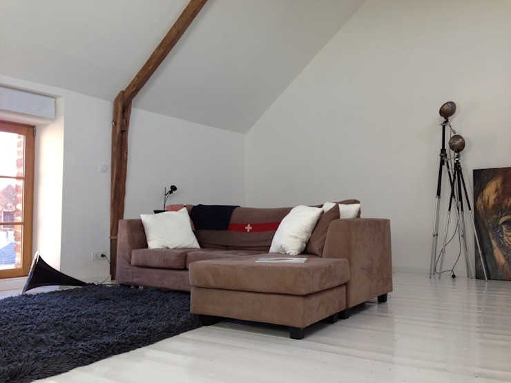 Salon Salon minimaliste par Atelier Tresan Minimaliste