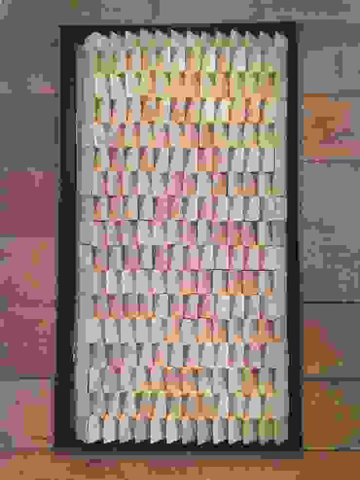 Porte habillée de bois par Atelier Tresan Minimaliste