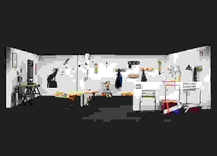 Messestand Minimalistische Arbeitszimmer von Colourform Minimalistisch