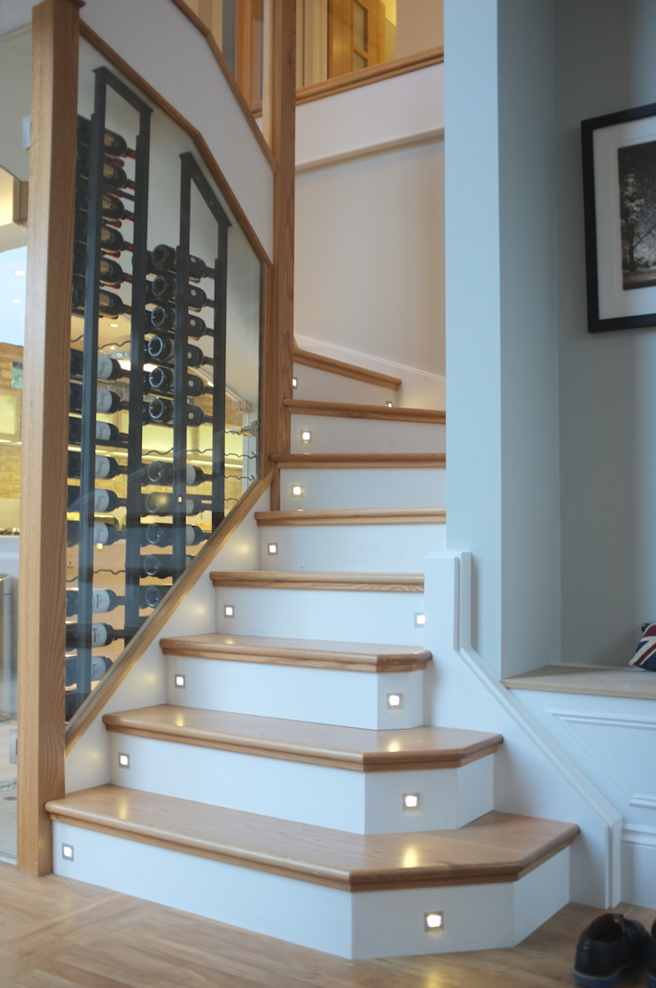 Clapham - Conversion & Refurbishment Modern corridor, hallway & stairs by Arc 3 Architects & Chartered Surveyors Modern
