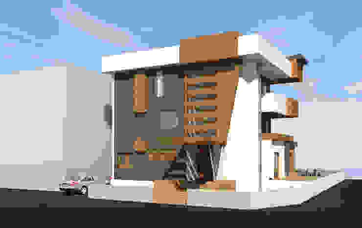 Modern Houses by DerganÇARPAR Mimarlık Modern