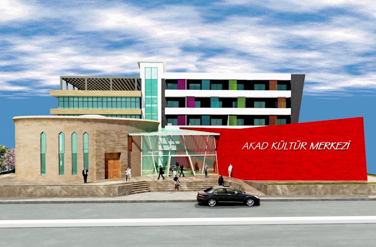 ALEVİ KÜLTÜRÜ ARAŞTIRMA DERNEĞİ ( AKAD ) İSKENDERUN Modern Kongre Merkezleri DerganÇARPAR Mimarlık Modern