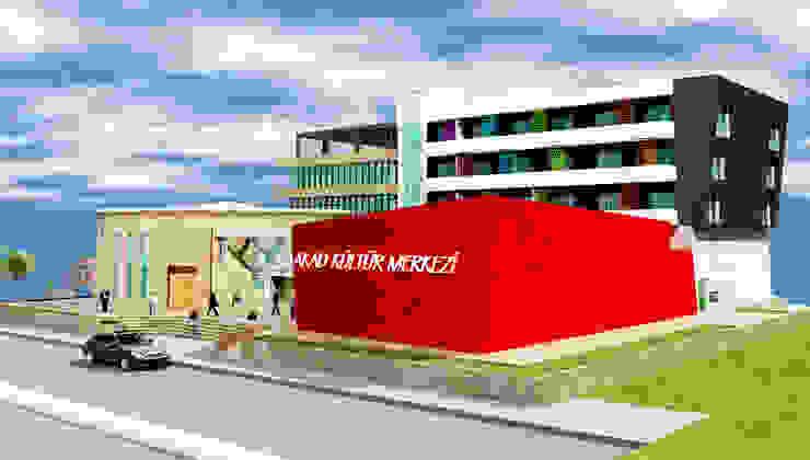 ALEVİ KÜLTÜRÜ ARAŞTIRMA MERKEZİ ( AKAD ) İSKENDERUN Modern Kongre Merkezleri DerganÇARPAR Mimarlık Modern