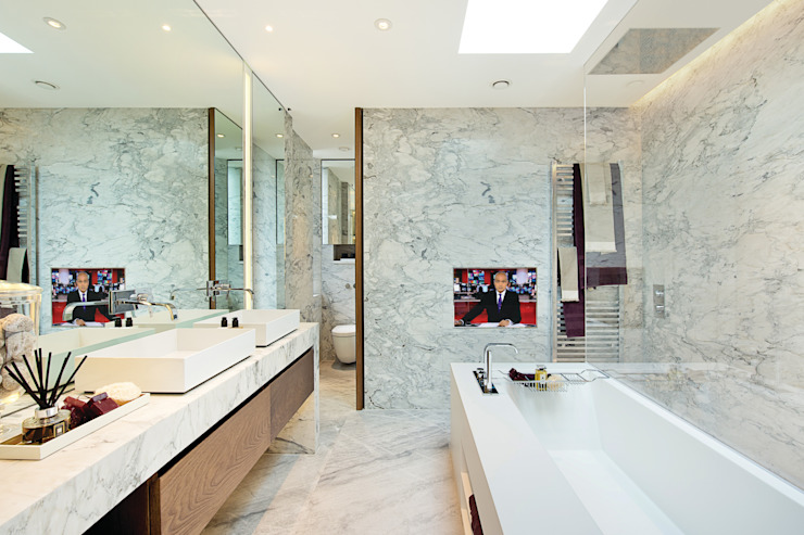 Trafalgar One, Canadian Pacific Building, London Modern bathroom by Moreno Masey Modern