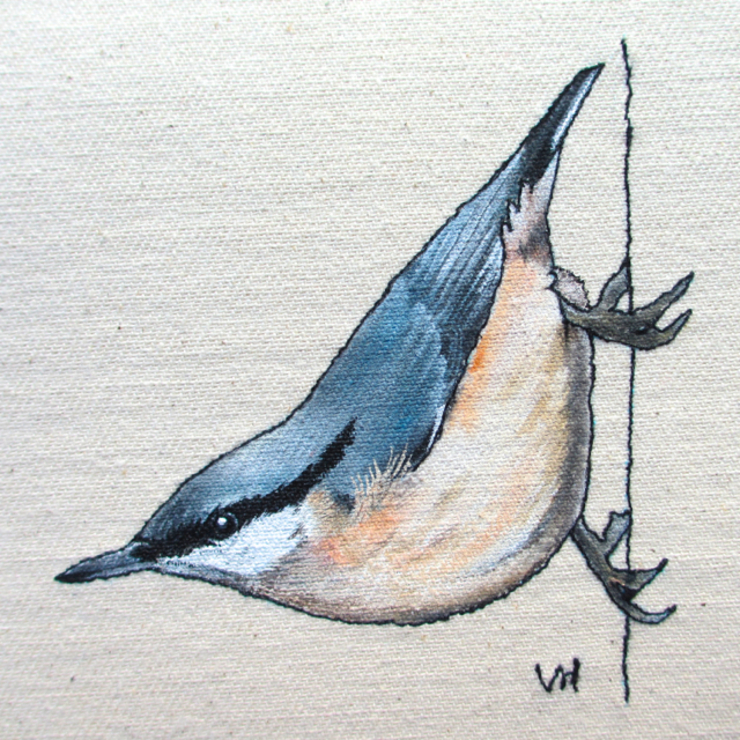Nuthatch : country  by Lottie's Cottage, Country