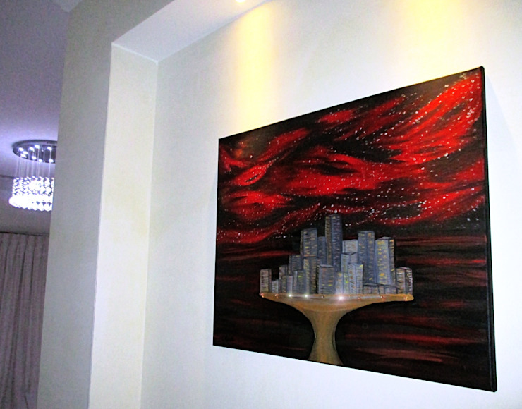 Rising City: modern  by Teressa Nichole, Modern