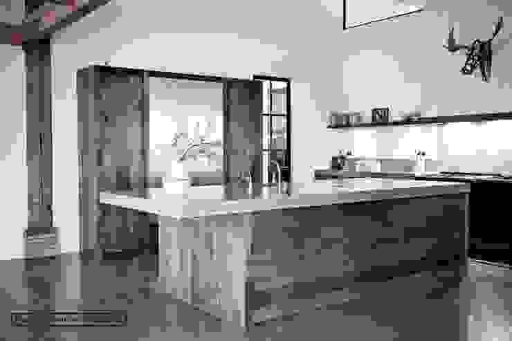 Kookeiland Woonboerderij Landelijke keukens van Piet-Jan van den Kommer Landelijk