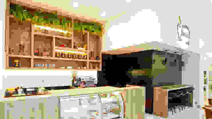 AROMA BRASIL CAFÉ por AF Arquitetura Moderno